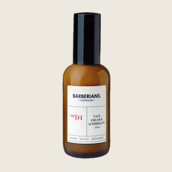 BARBERIANS FACE CREAM AND AFTERSHAVE