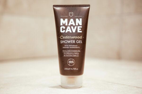Man Cave shower gel