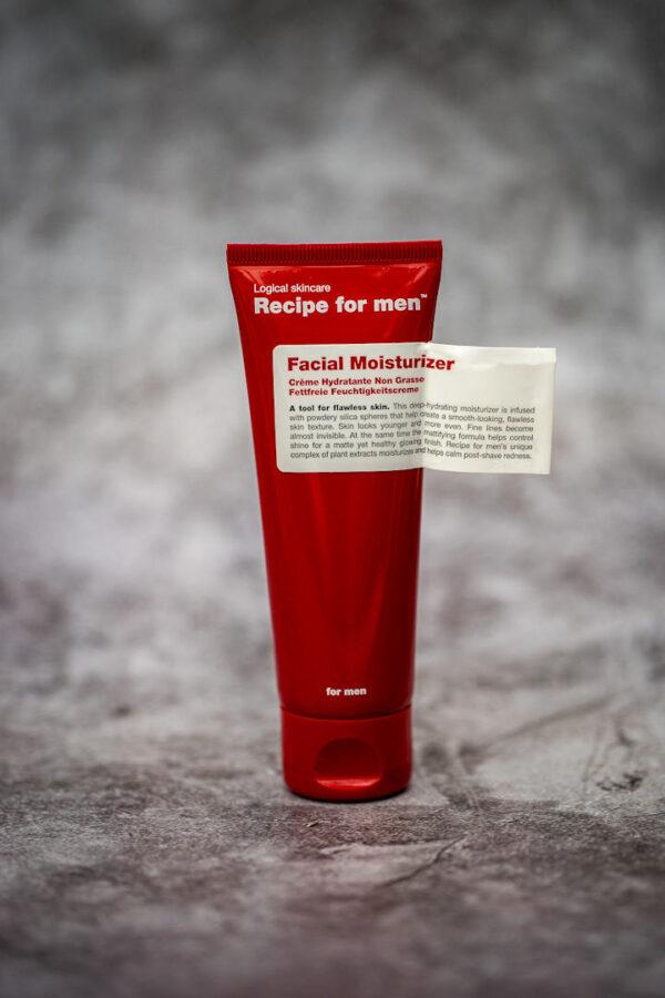 Fugtighedscreme til ansigtet Recipe for men 75ml.