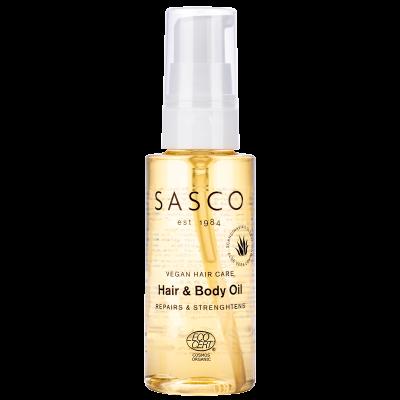hår og body olie fra sasco