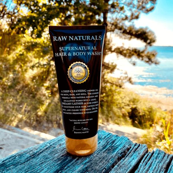 raw nature alt i en shampoo